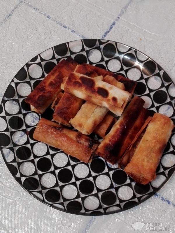 закуски с лаваша с фото