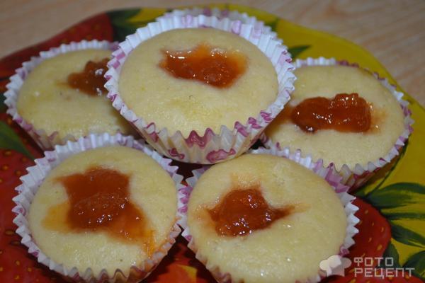 Рецепт кекса из кефира и манки