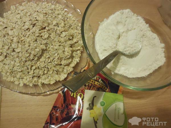 Рецепт классических овсяных печений
