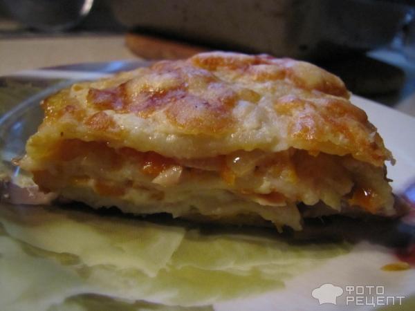 Рецепт лазаньи с фаршем с соусом бешамель пошаговый рецепт с