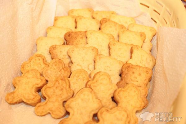 Фигурное песочное печенье рецепты с фото