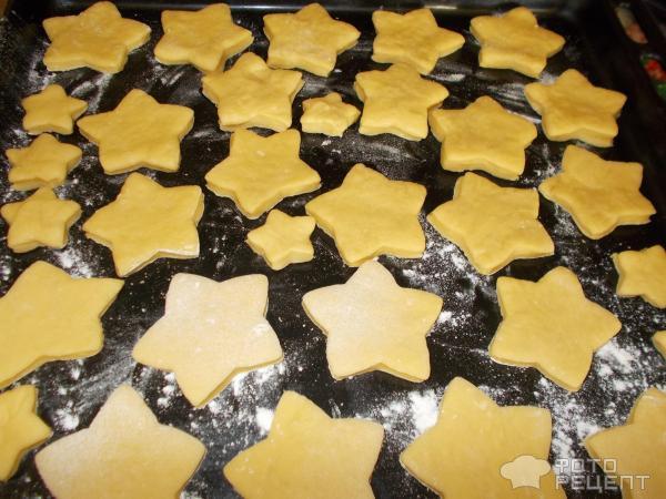 Печенье желтковое фото