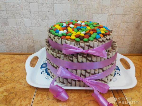 Торт с m m's рецепт