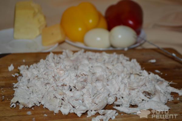Салат цыпочка рецепт с фото