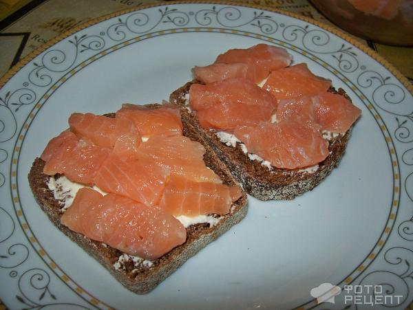 Обрезки лосося рецепт