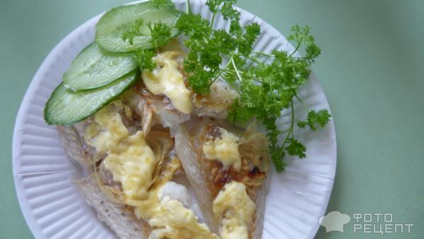 Фото рецепт запеченного филе минтая