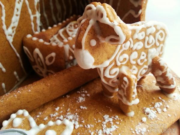 Рождественское имбирное печенье фото