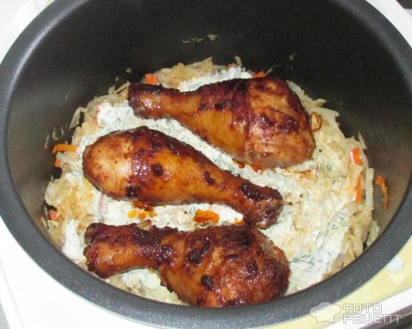 Курица в мультиварке с сыром рецепт с фото