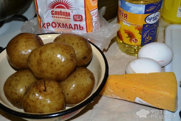 Картофельные шарики во фритюре рецепт с фото