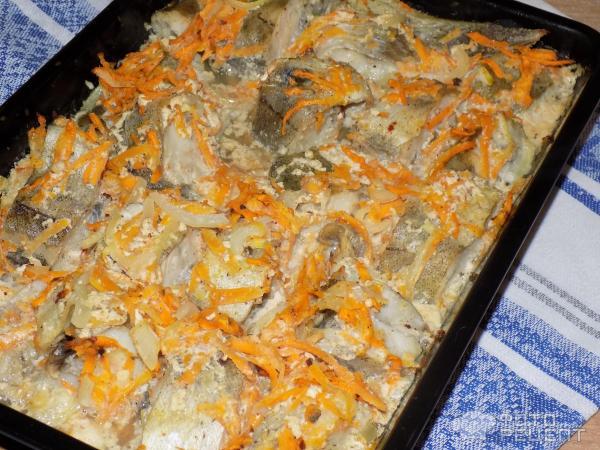 Запечённый минтай в духовке в фольге пошаговый рецепт с