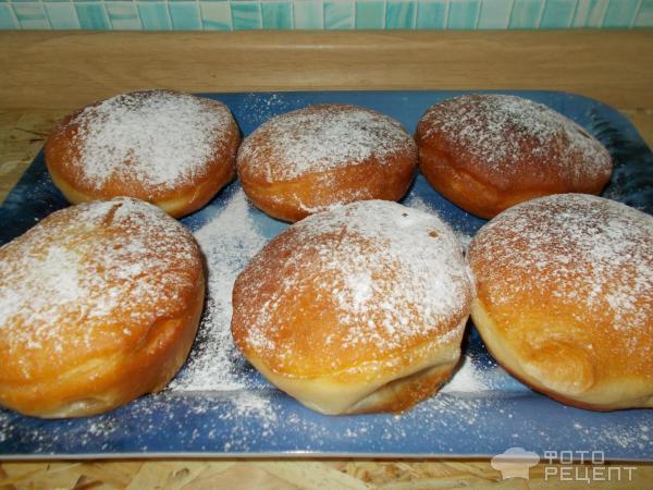 Пончики без дрожжей рецепт пошаговый рецепт