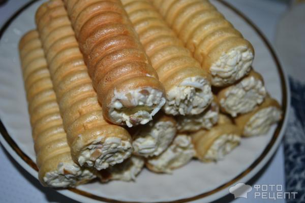 407Начиненные макароны трубочки в духовке рецепт