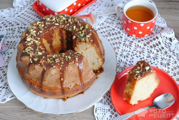 Воздушный кекс на кефире рецепт с фото пошагово в духовке