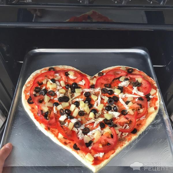 Пицца Валентинка фото