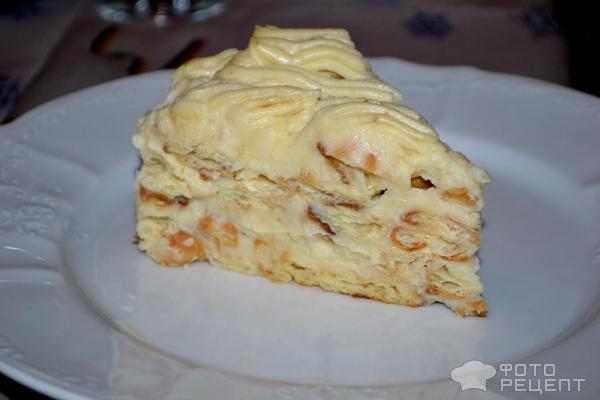 Торт дамские пальчики с заварным кремом