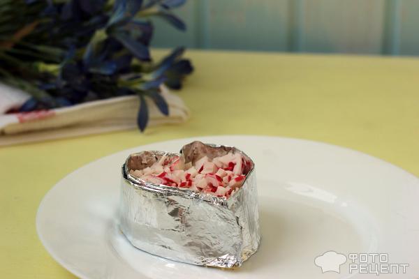 Салат ко Дню всех влюбленных Идеальная пара фото