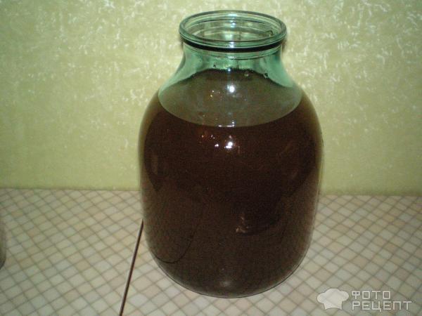Полведра высококачественного ячменного солода перемешать с двумя ведрами прохладной воды и не трогать сутки.