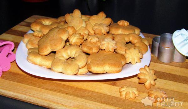 Печенье в форме на газу рецепты песочные