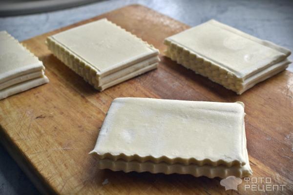 Пирожное Мильфей фото