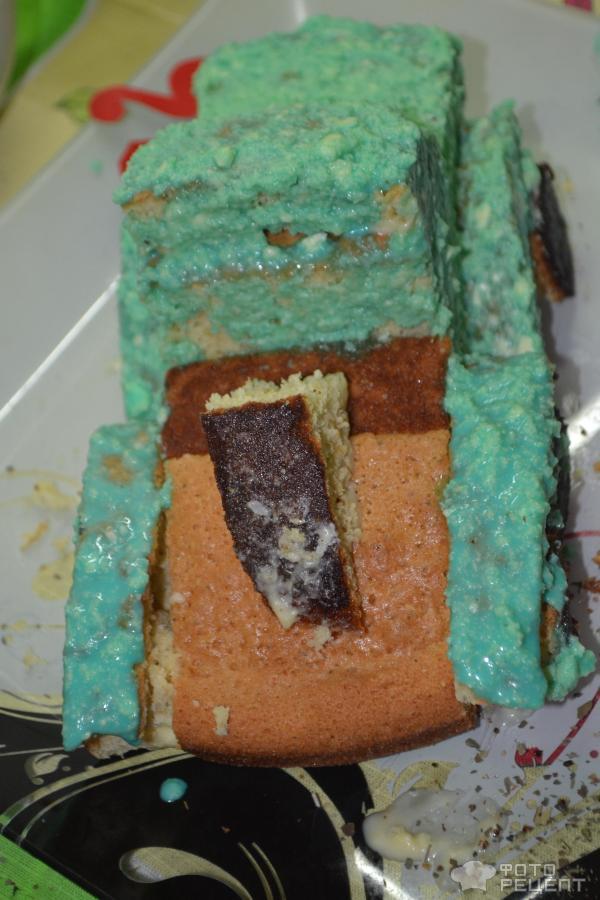 Торт на 23 февраля Катюша фото