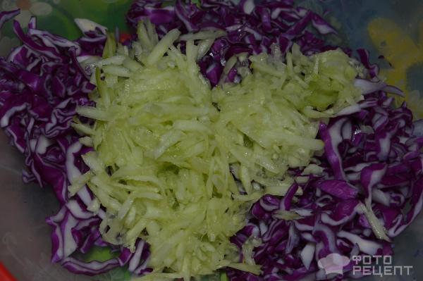 Салаты из синей капусты рецепты с простые и вкусные