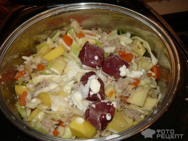Рагу из овощей в мультиварке, рецепт с фото пошагово