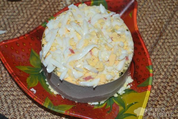 Салат астра с курицей рецепт пошагово