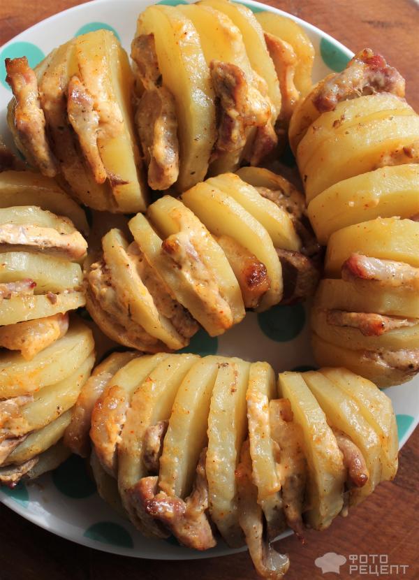 Картошка гармошка рецепт с фото