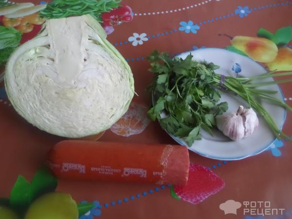 Салат бахор из копченой колбасы рецепты
