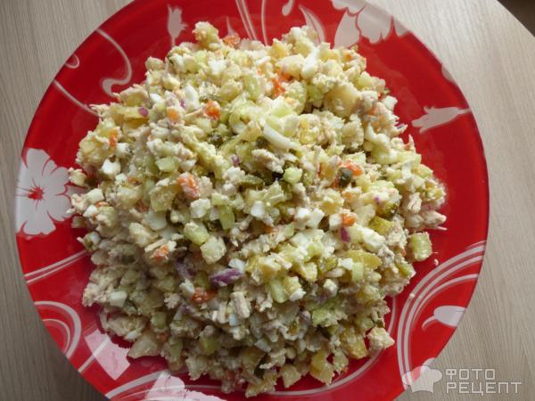 Вкусное оливье рецепт с фото