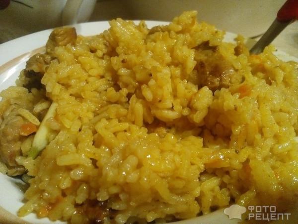 Плов из красного риса со свининой рецепт