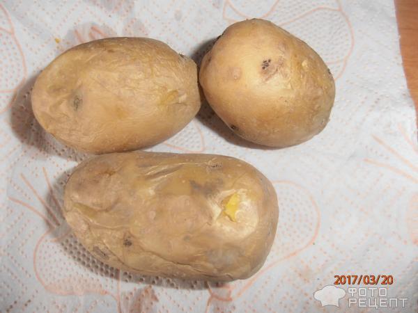 Рецепт картофель запеченый