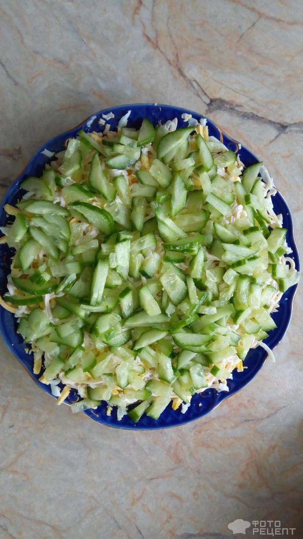 Салат береза рецепт классический