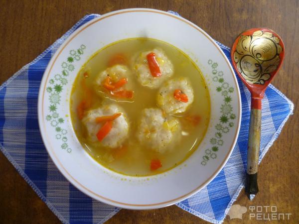 постный суп с клецками рецепт с фото