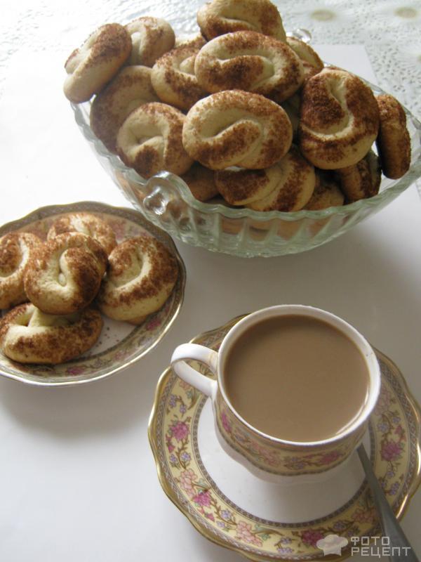 Печенье с корицей рецепт с фото