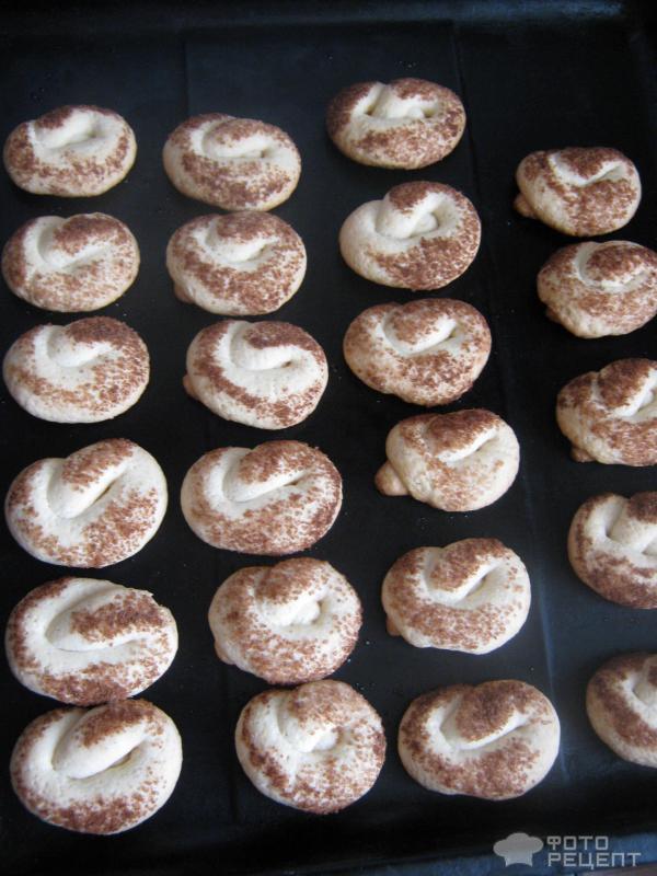 Печенье крендельки рецепт с фото