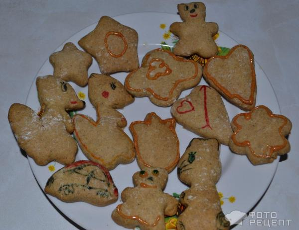 печенье фигурки рецепты с фото