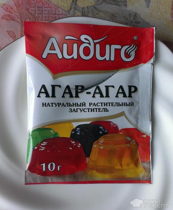 Кисель с агар-агаром рецепт