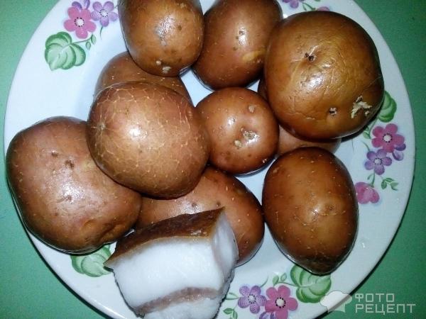 Картошка по-селянски в кожуре рецепт