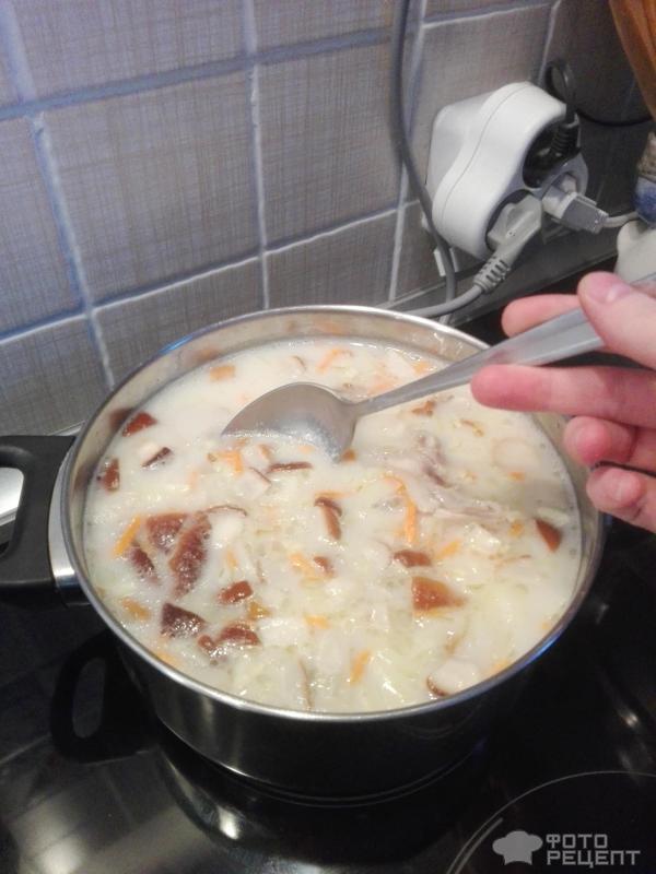 Рецепт суп куриный со сливками рецепт с пошагово