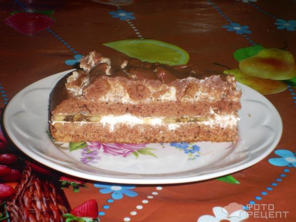 Торт с сметаной рецепт с фото пошагово