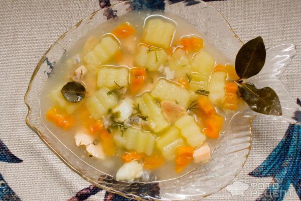 Как приготовить суп рыбный из семги