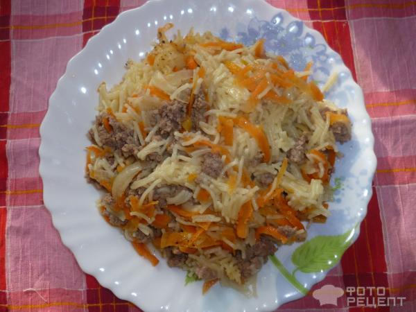 второе блюдо на скорую руку рецепт с фото