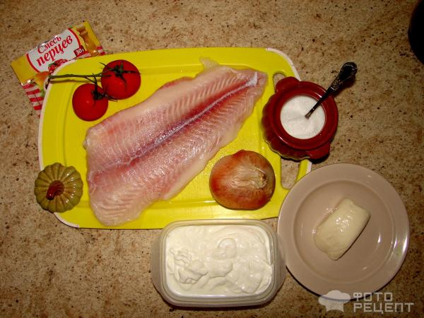 диетический рецепт морского языка в духовке