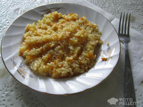 Рецепт риса на гарнир с фото в мультиварке