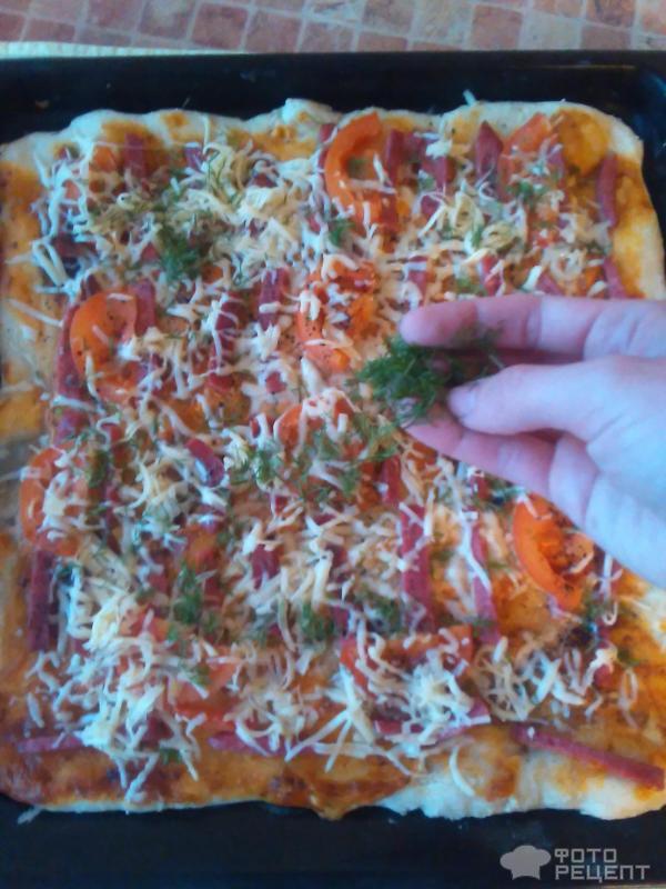 Как сделать тесто для пиццы на простокваше