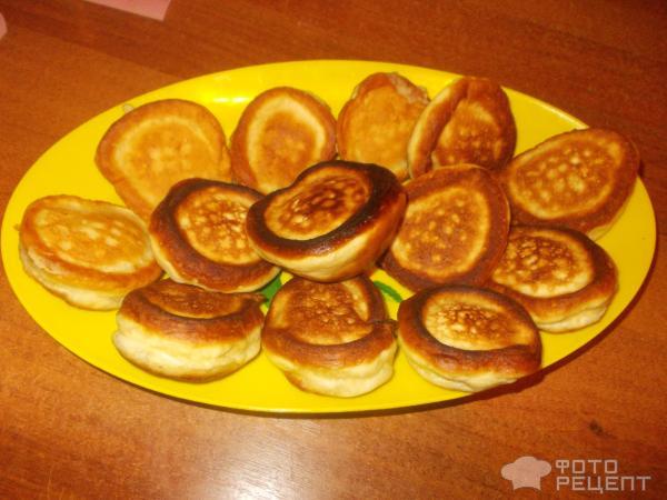 Банановые оладьи на кефире пышные рецепт