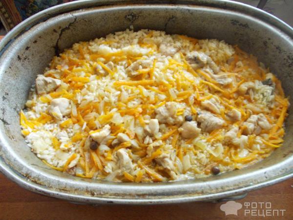 Плов в жаровне с курицей рецепт с пошагово в