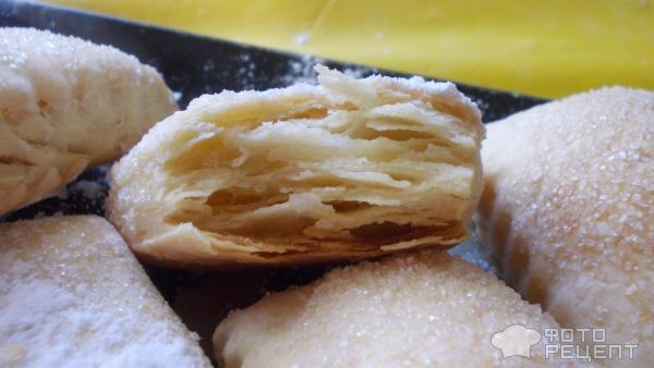 Рецепт слоеные язычки с сахаром рецепт