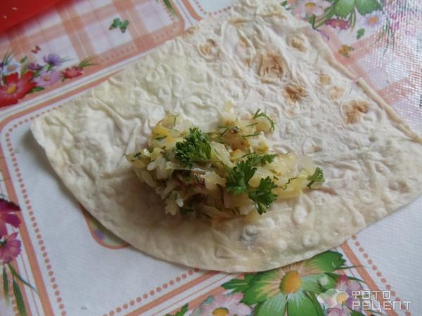 Ленивые пирожки из лаваша рецепт